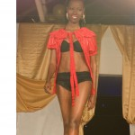 bn fashion show red blouse runway walk 150x150 Meet Brenda Nambi of BAMBI: Fashion Designer from Uganda