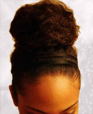 bun Winter Protective Styles for Your Hair